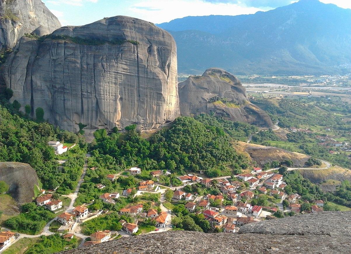 Górski krajobraz w Grecji