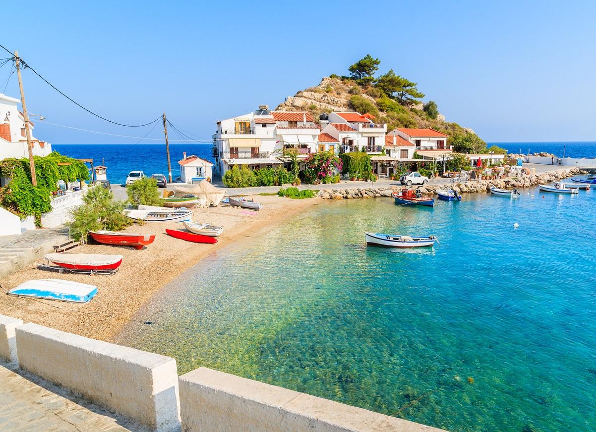 Wyspa Samos w Grecji