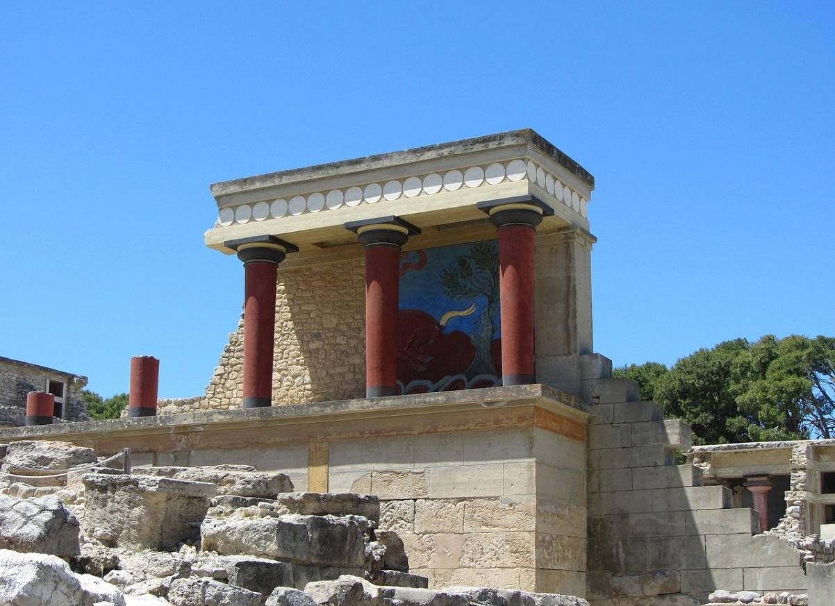 Pałac w Knossos na Krecie