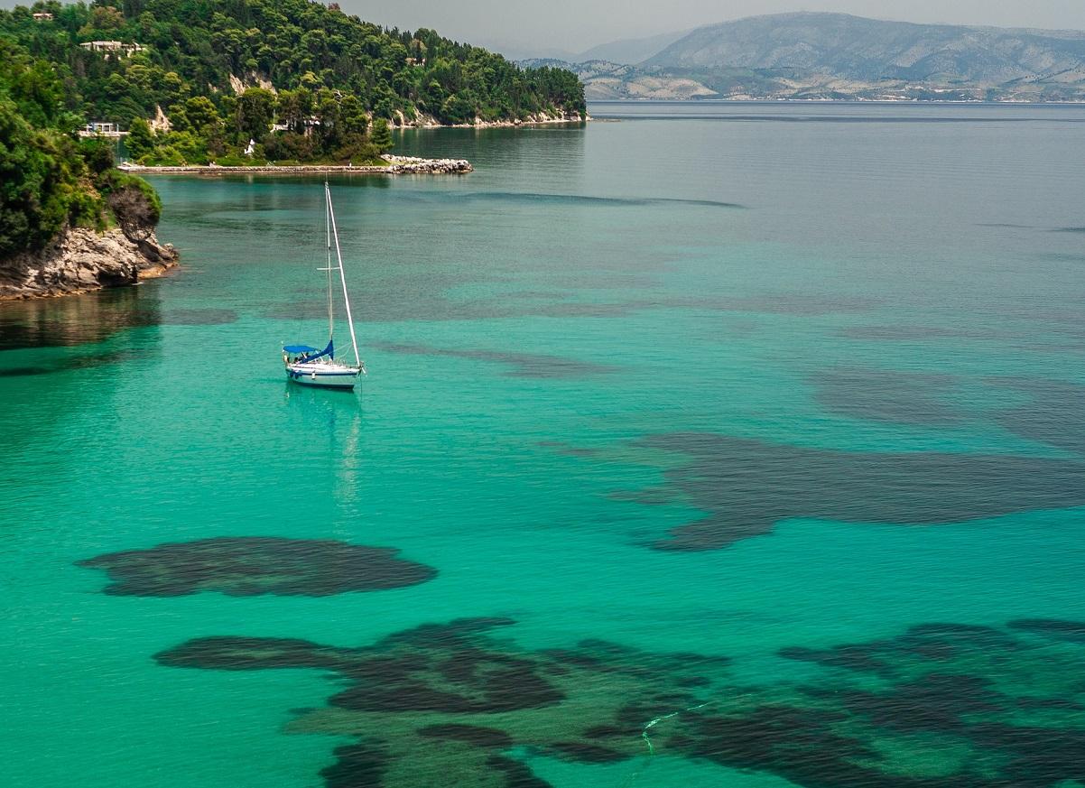 Grecka Wyspa Korfu
