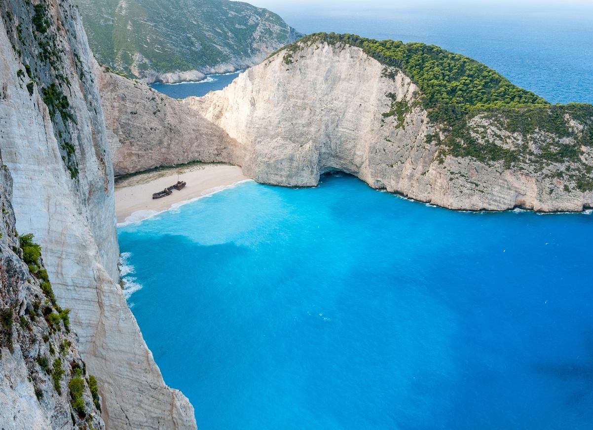 Grecka Wyspa Zakynthos