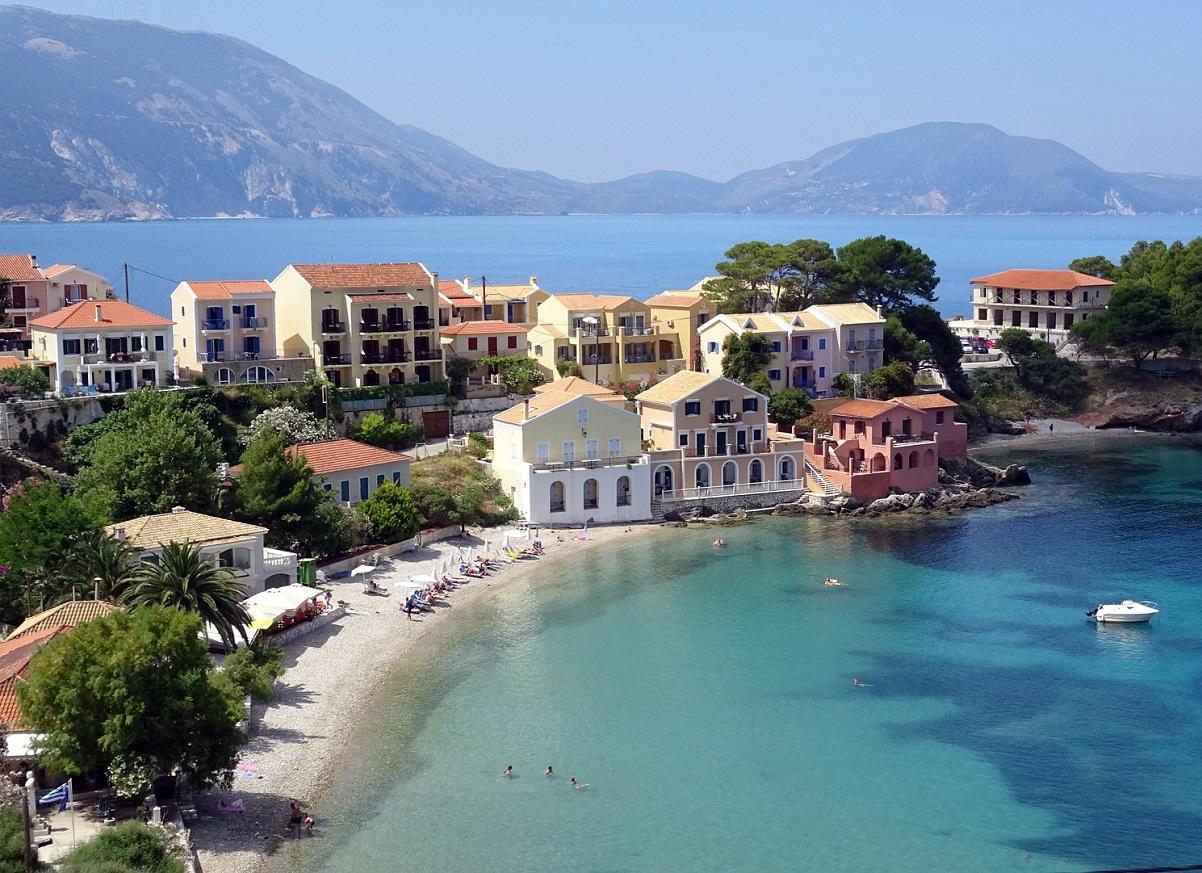 Grecka Wyspa Kefalonia