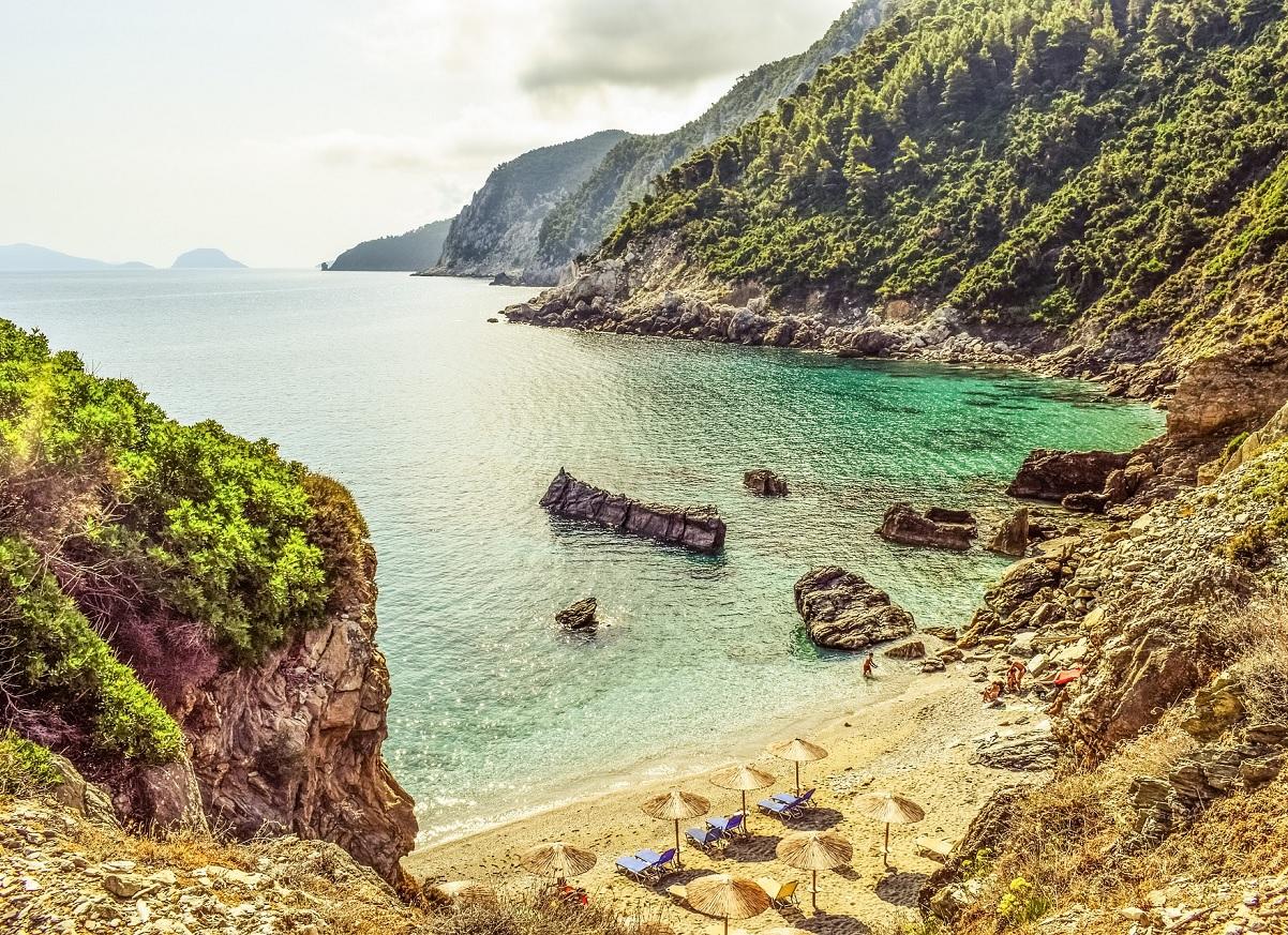 Grecka wyspa Skopelos