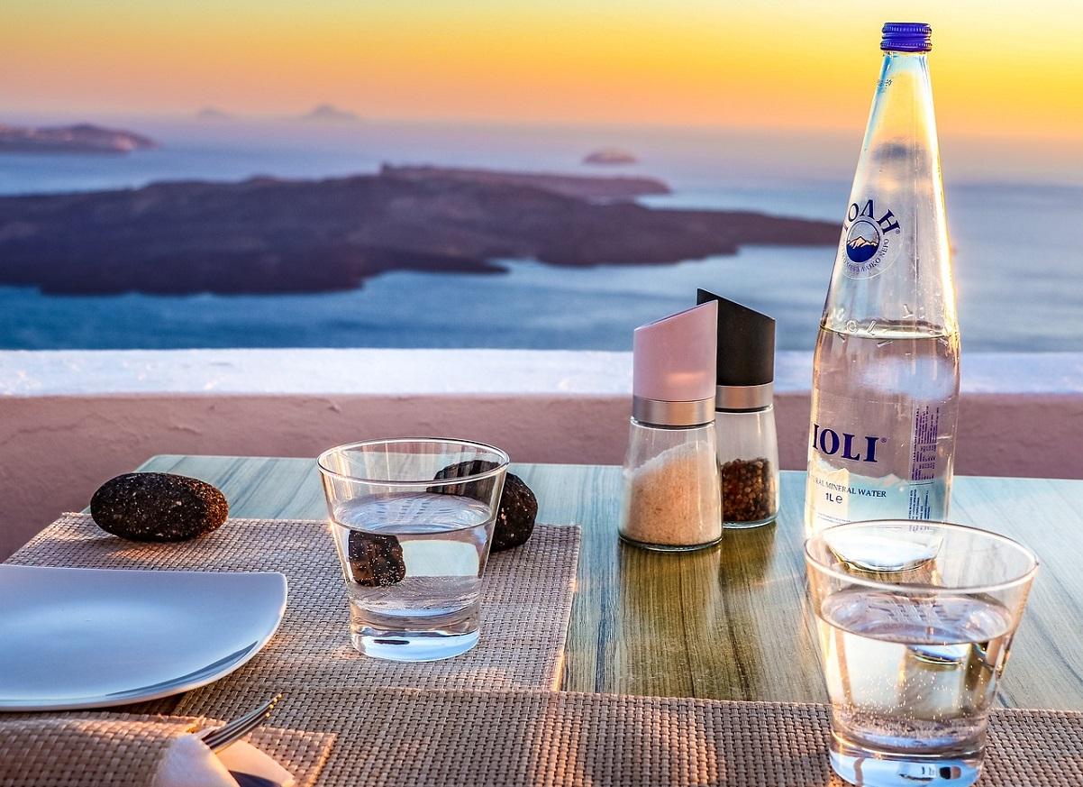 Przed greckim posiłkiem